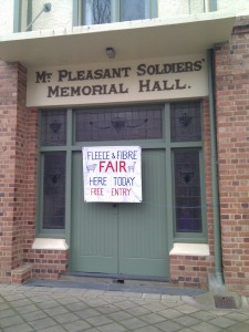 Mt Pleasant Soldiers Memorial Hall