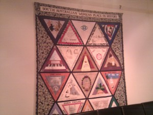 South Australian Women's Place In History Quilt