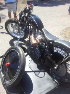 A replica of Don's JAP bike