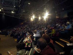 In the main auditorium