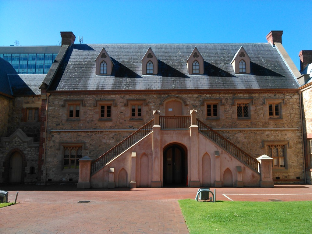 The Armoury, above the door it says Australian Light Horse and Scottish Infantry