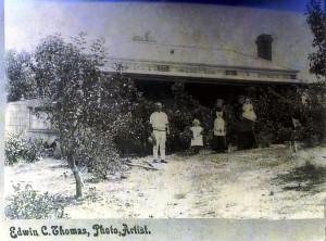 Left - William Henry Scadden (my great grandfather) Far right - Elizabeth Scadden (my great grandmother)
