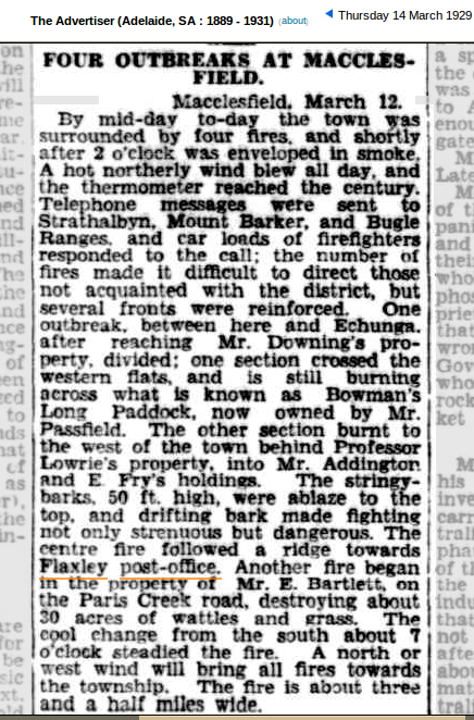 1929 is the earliest mention I could find