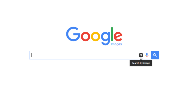 Go to images.google.com and click on the camera icon in the search box