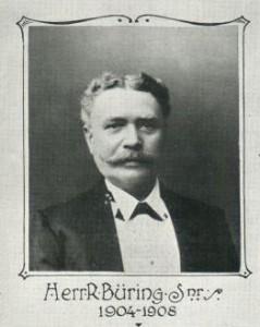 Picture of Heinrich Franz Rudolph Buring