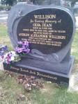 Olva Jean Willison nee Bowhey Andrew Alexander Willison Birdwood Cemetery