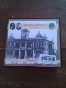 The Annals Of Bendigo Vol 3 1892 - 1909