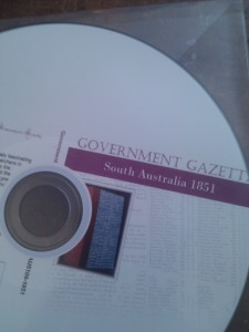 South Australian Government Gazette 1851