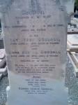 George Goodall, Amy Jessie Goodall, Anna Bertha Goodall, Jean Goodall and George Leslie Goodall Hindmarsh Cemetery