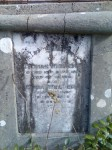 Thomas Weller and Eliza Weller Blakiston Cemetery