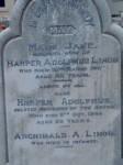 Mary Jane Lihou Harper Adolphus Lihou Archibald A Lihou Hindmarsh Cemetery Adelaide