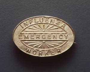 Influenza Emergency Worker Badge