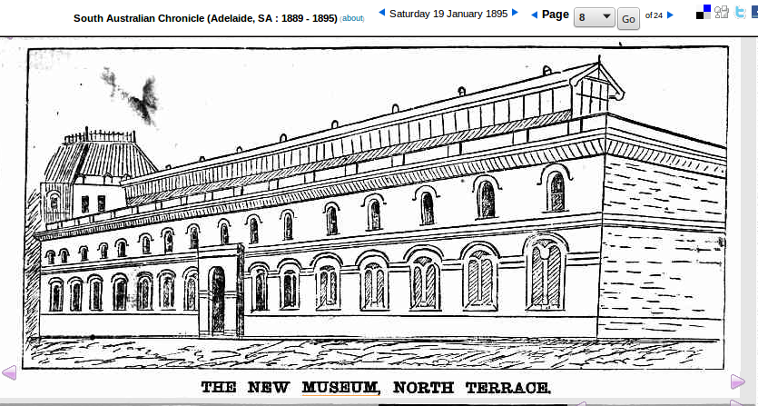 This building still exists but it has been built on to at the front