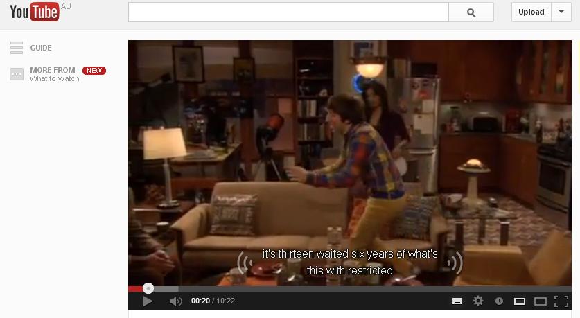 Bad youtube subtitles