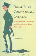 Royal Irish Constabulary Officers book
