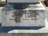 Anne Lees Elmore Cemetery