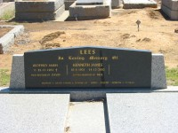 Geoffrey James Lees Kenneth James Lees Elmore Cemetery
