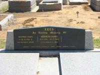 Geoffrey James Lees Kenneth James Lees Elmore Cemetery