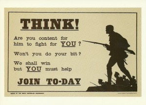 World War One Recruiting Poster