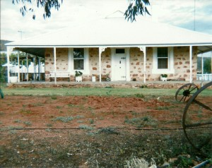 Uno Station Homestead circa 1986